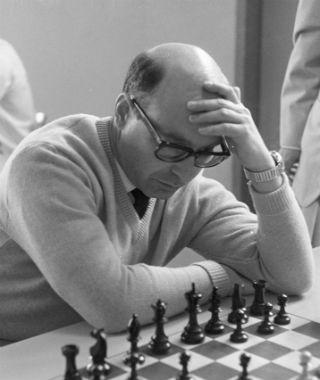 Dawid Bronstein w roku 1968
