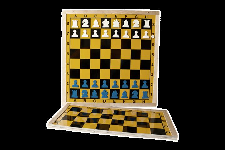 Magnetyczna szachownica demonstracyjna