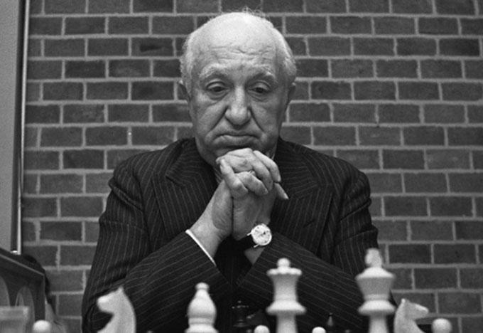Mieczysław (Miguel) Najdorf w 1973 r.