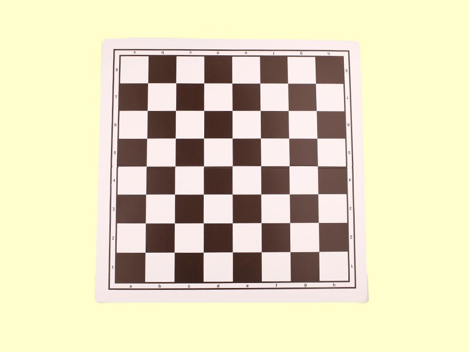 Duża, składana szachownica plastikowa
