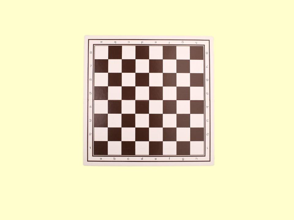 Mała, składana szachownica plastikowa