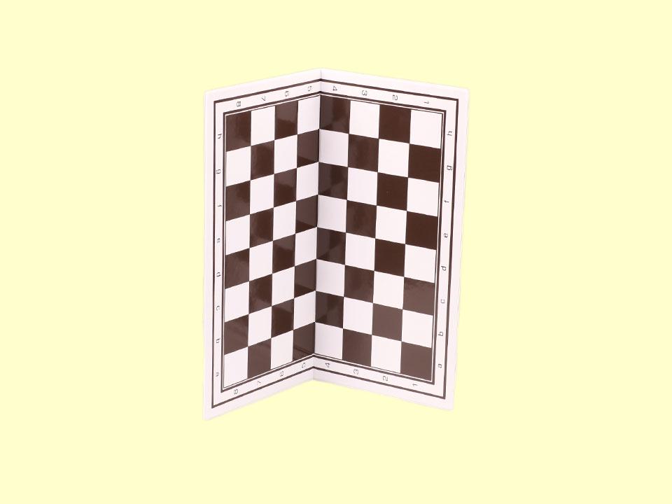 Mała, składana szachownica plastikowa - składanie szachownicy