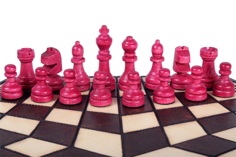 Szachy dla trzech graczy (małe)