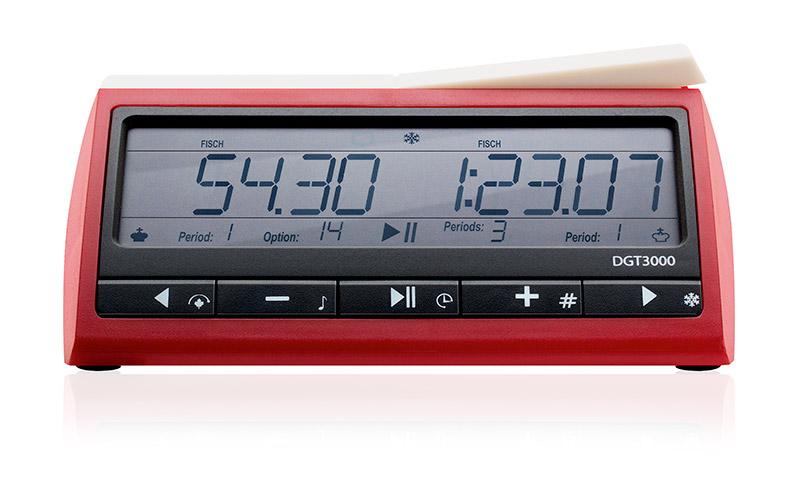 Nowoczesny zegar szachowy elektroniczny DGT 3000
